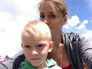 Фото №9. Тимофій і мама Олександра
