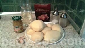 рецепт, как приготовить, як приготувати, запечена картопля з гірчицею, печеный картофель с горчицей, зерна гірчиці, зерна горчицы