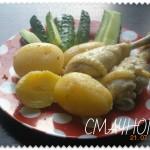 Молода картопля з крукою в мультиварці, молодой картофлель с курицой в мултиварке, курица на пару, курка на пару, курячі гомілки на пару, куриные голени на пару