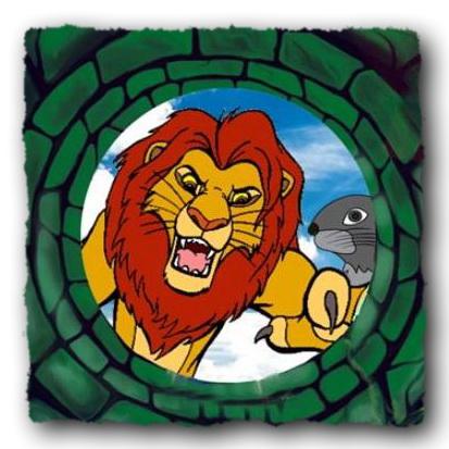 Лев і Заєць (аудіоказка)