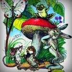 pod-hribom-audioskazka, під грибом аудіоказка слухати онлайн, володимир сутєєв