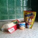вафельні коржики із згущеним молоком, з несквіком, покроковий рецепт з фото