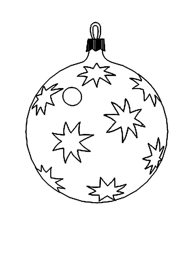 Раскраска новогодних шаров своими руками 85