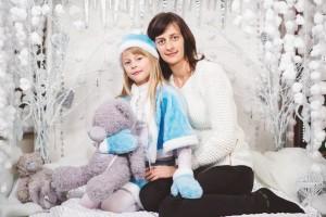 ФОТО №2. Катя та мама Надія Данко