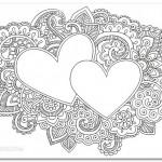 розмальовки-антистрес до Дня святого Валентина, розмальовки для дорослих