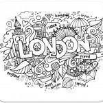 розмальовки для дорослих, розмальовки антистрес, країни, подорож, сложные раскраски антистресс, страны, путешествия, лондон