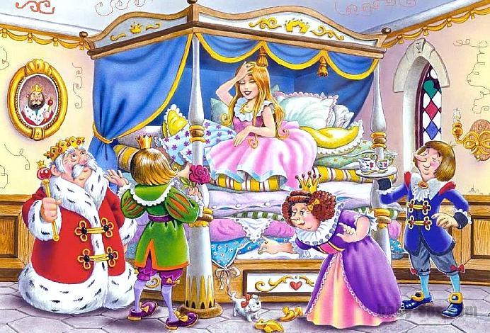 Принцеса на горошині (аудіоказка)