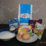 імбирне печиво, имбирное печенье, випічка, выпечка, рецепти , рецепты,  кокосовая стружка, рецепти для дітей