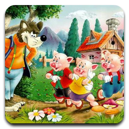 journey of three piglets, audіokazka online, listen for free, three porosyatka