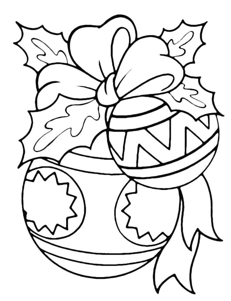 Christmas Coloring, Christmas decoration, Christmas decorations