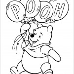 Coloring for kids, Disney, Winnie the Pooh, coloring
