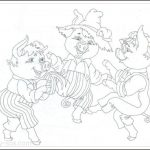 Three Little Pigs coloring, Three Little Pigs coloring pages