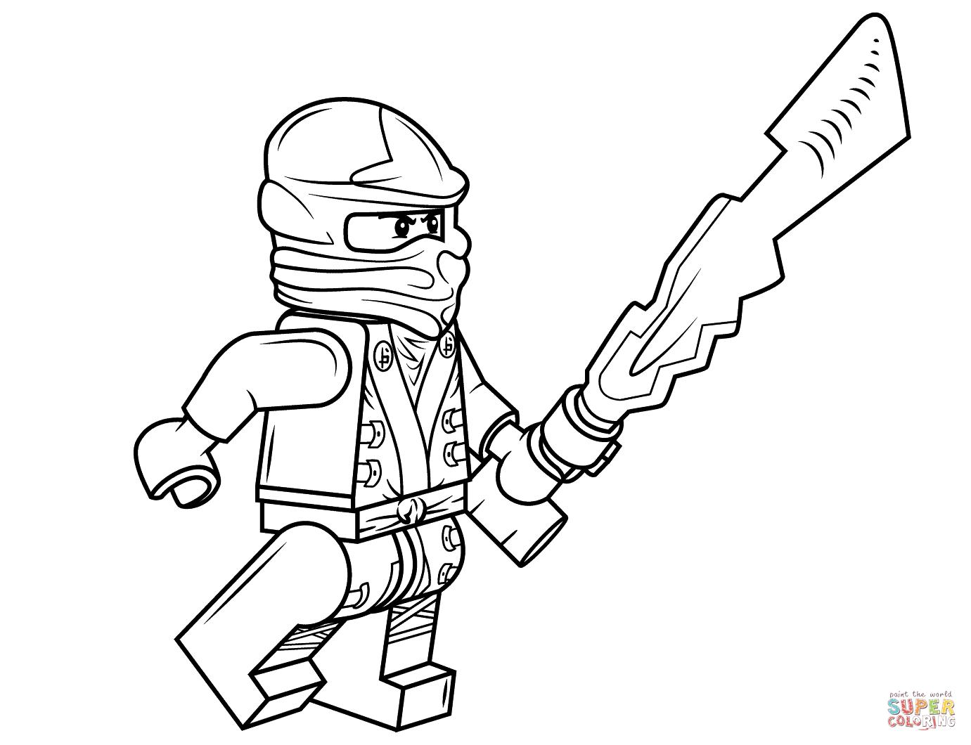 - Coloriage de ninja ...