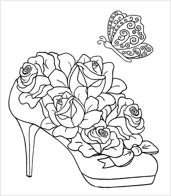 Coloring anti-stress for adults, Coloring for adult anti-stress
