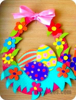 Easter crafts paper