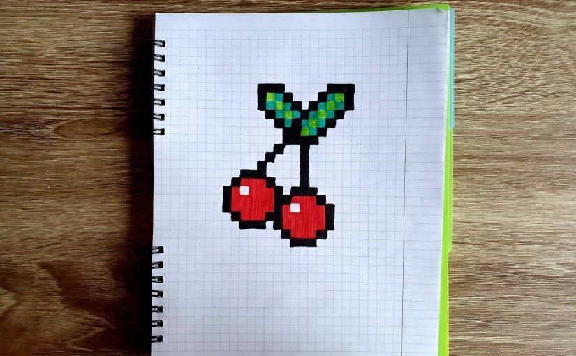 Вишня (Pixel art)